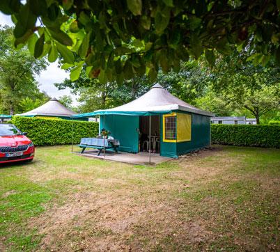 bungalow toile Pyrénées