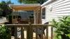 terrasse extérieure mobile home