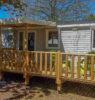mobile home 5 personnes terrasse en bois
