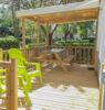 terrasse en bois mobile home